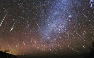 В ночь с 8 на 9 октября все жители России смогут увидеть звездопад Дракониды